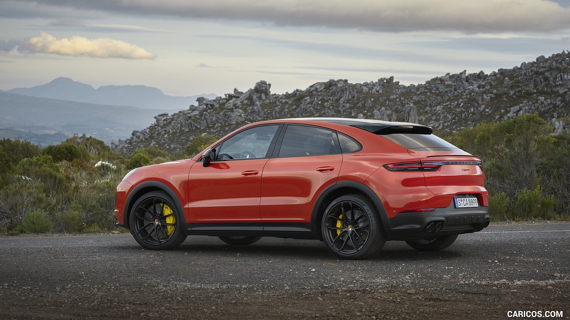 2020 Porsche Cayenne Coupe   Rear Three Quarter HD Wallpaper 10 1920x1080