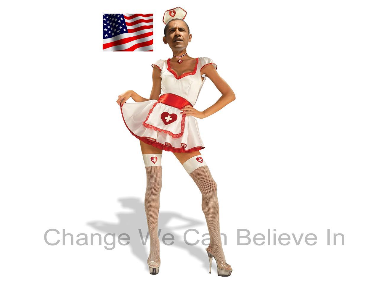 Desktop wallpapers Barak Obama hope action change funny picture 1280x960