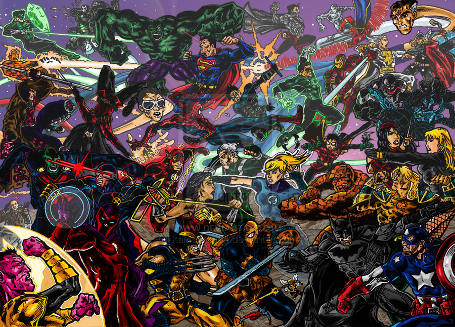 48 marvel dc wallpapers on wallpapersafari - Marvel and dc wallpapers ...