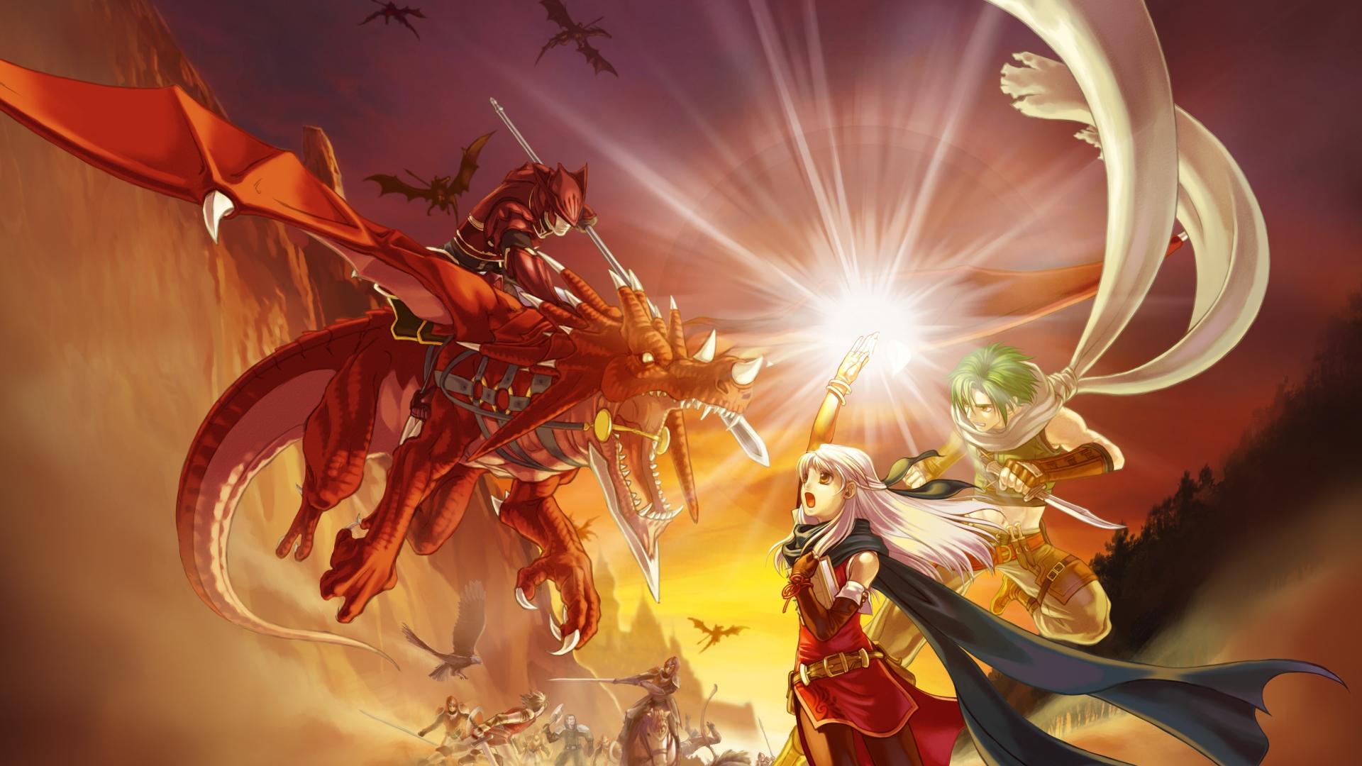 Fire Emblem Radiant Dawn dragon dragons wallpaper 1920x1080 122758 1920x1080