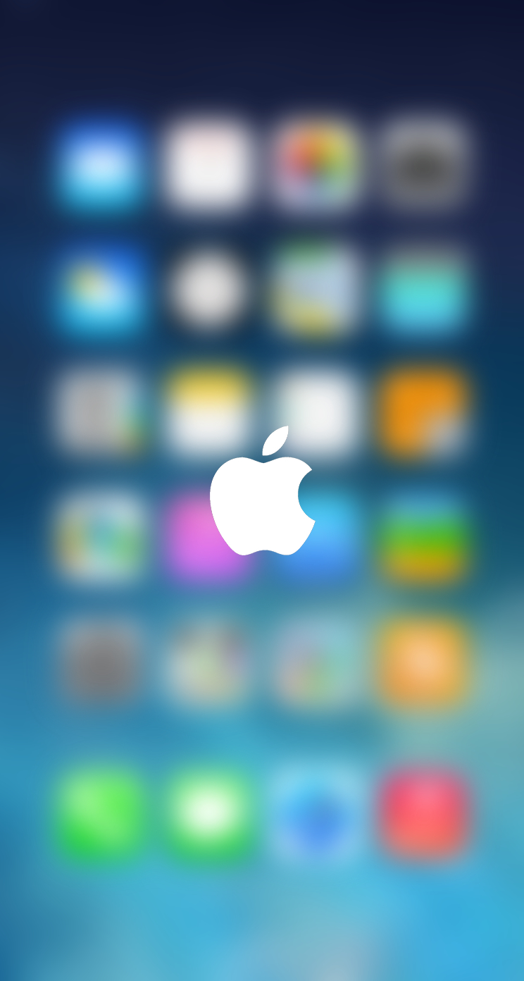 Iphone 5 Wallpaper Blurry Blurred Lock Screen HD Walls Find 744x1392