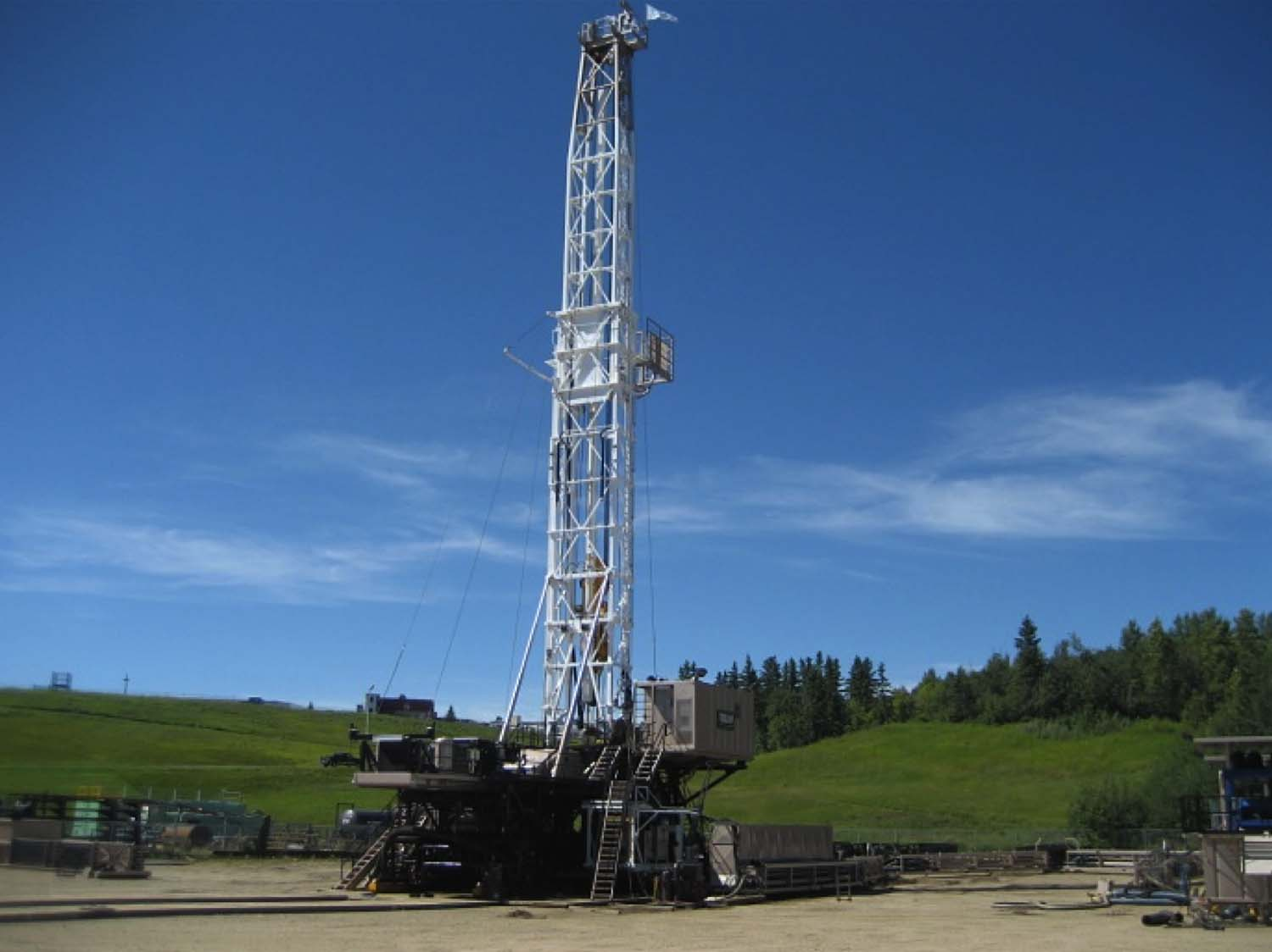 Land drilling rig pictures