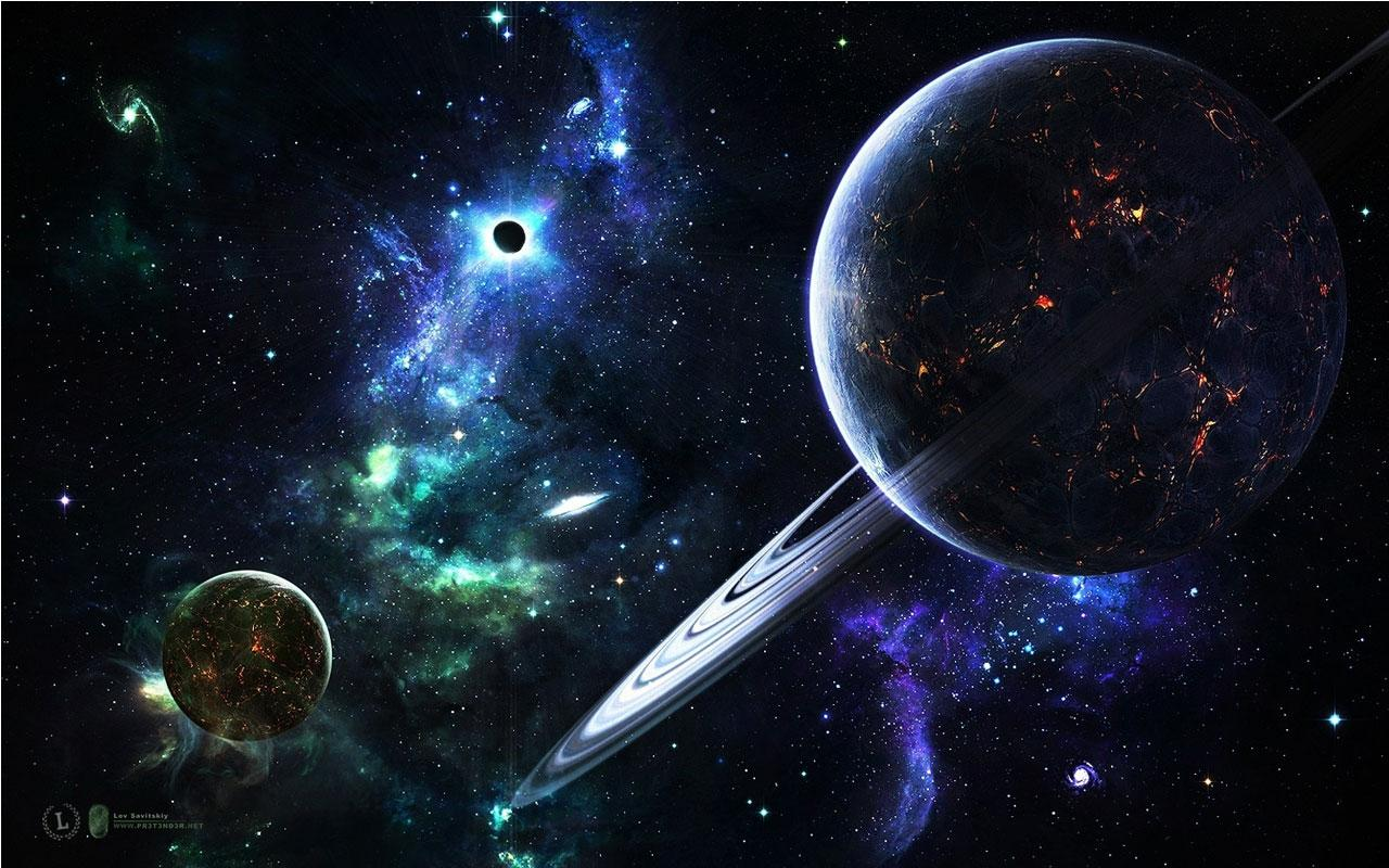 Space Art Live Wallpaper For Android 1280x800