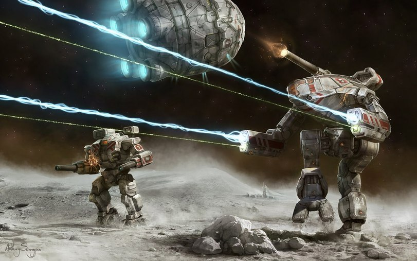 Mechwarrior Online art wallpapers 811x521