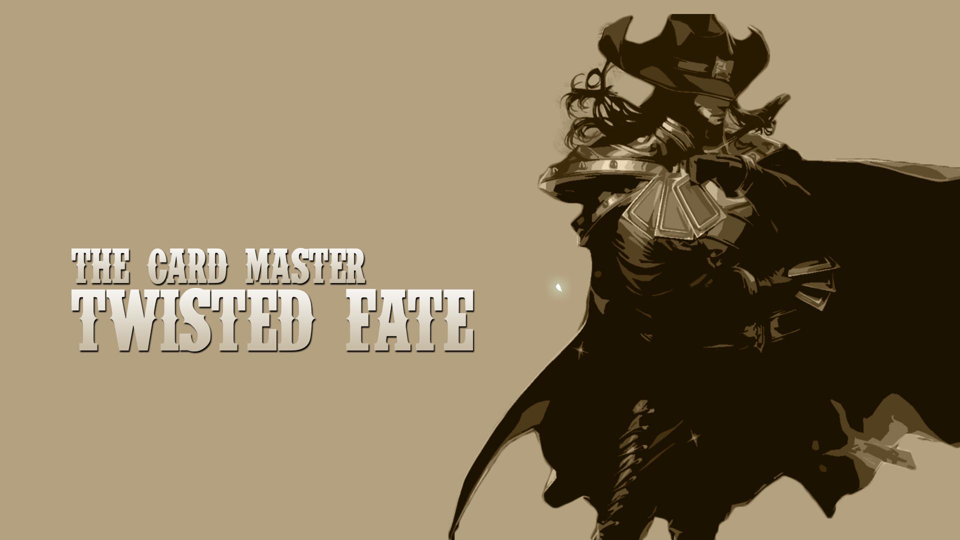 Twisted Fate LOL wallpaper l LOL 1920x1080