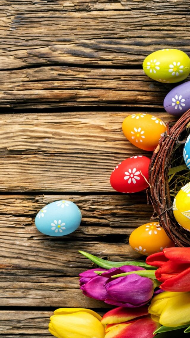 Wallpaper iPhone holiday Easter Hsvt Easter wallpaper 640x1136