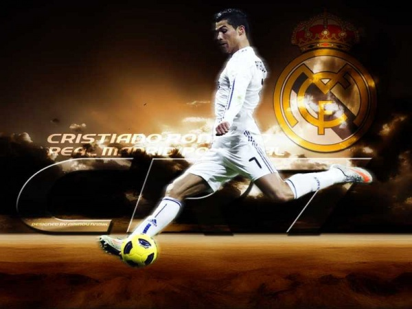 Soccer Playerz HD Wallpapers Cristiano Ronaldo New HD Wallpapers 2012 600x450