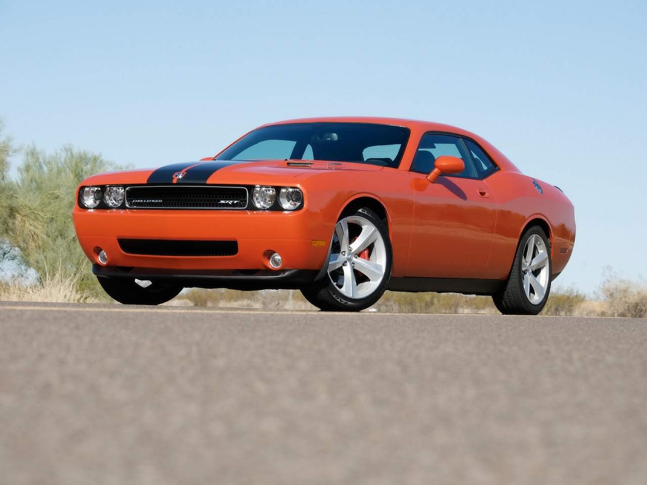 2010 Dodge Challenger SRT8 HD Wallpapers Images Pictures 1280x960