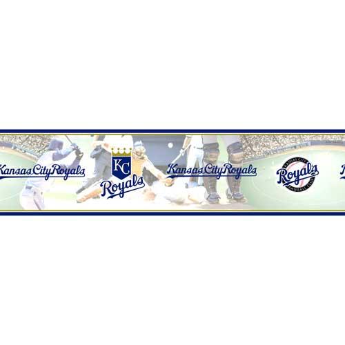 Kansas City Royals MLB Wall Border 500x500