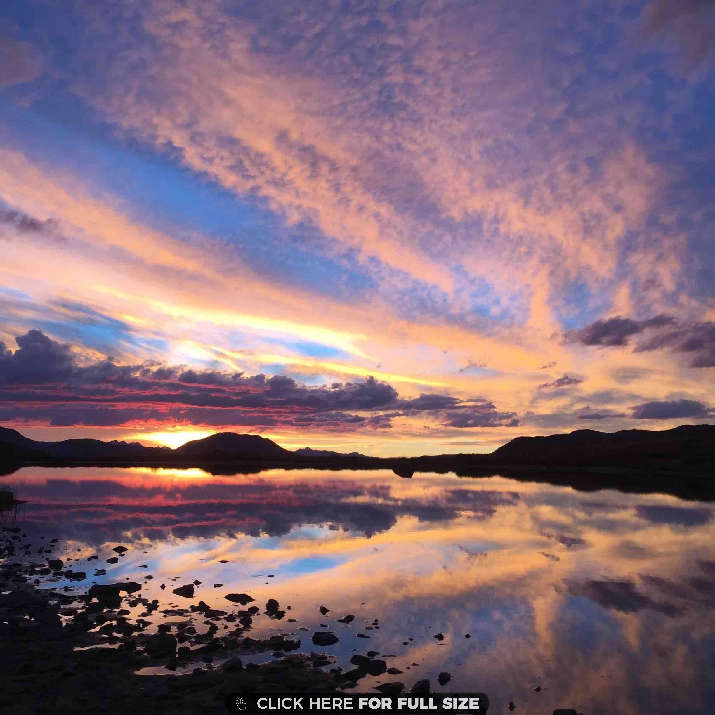 Twilight sky Desktop Wallpapers Aspen colorado Twilight sky 2448x2448