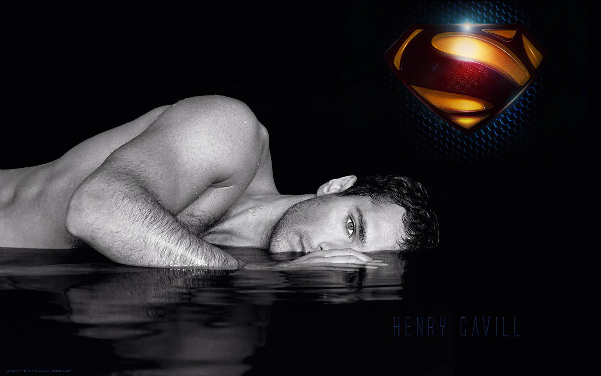 Download Henry Cavill Superman Man Of Steel 2013 HD Wallpaper 3886 1920x1200