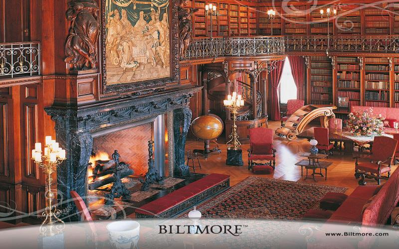 HD Biltmore House Library Wallpaper Download   122663 800x500