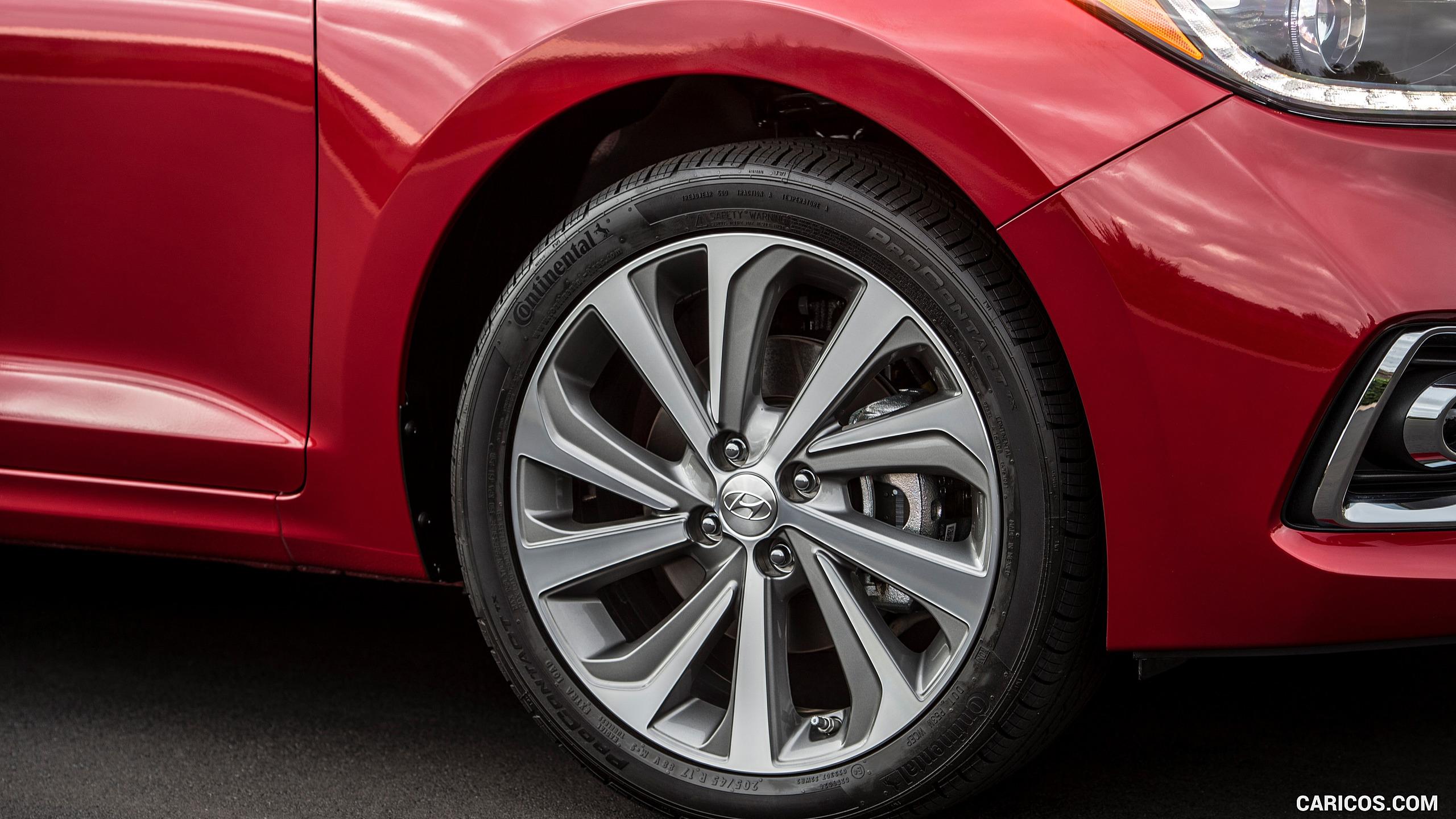 2018 Hyundai Accent   Wheel HD Wallpaper 14 2560x1440