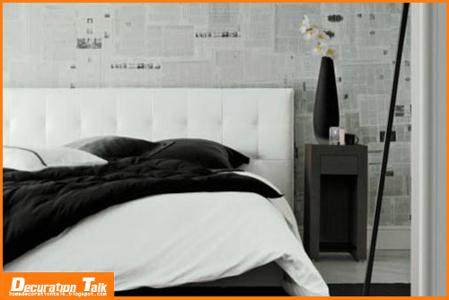 Examples of black and white wallpaper for bedroompng 500x334