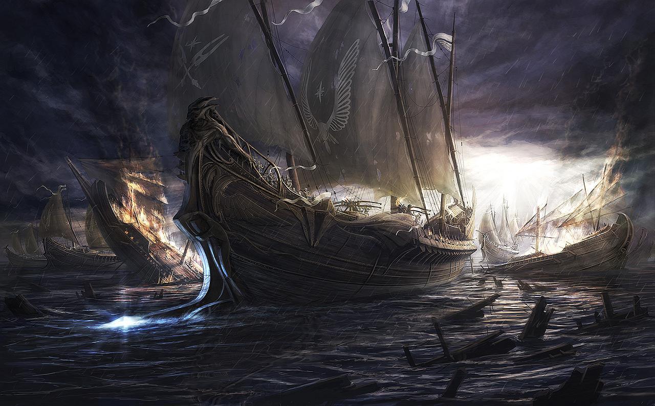 Viking Ship Wallpaper HD Wallpapers on picsfaircom 1280x794