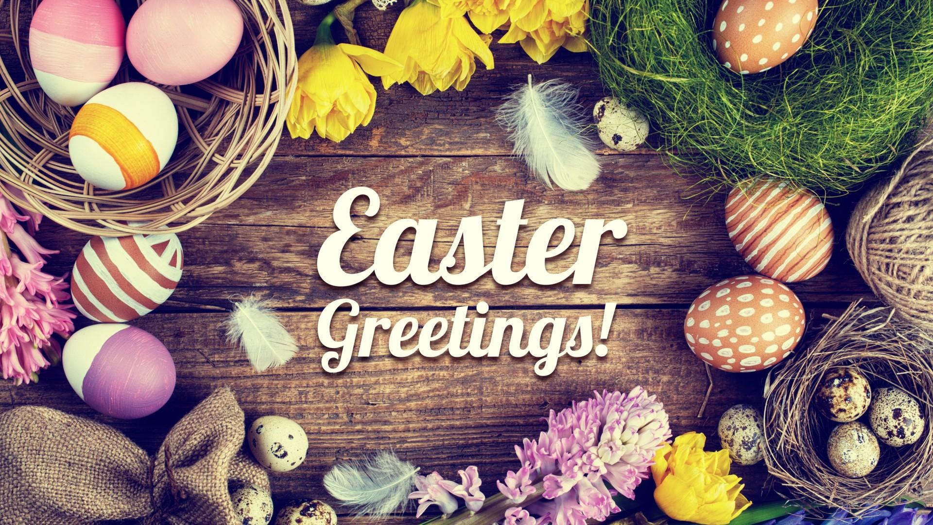 Easter Greetings Ultra HD wallpaper UHD WallpapersNet 1920x1080