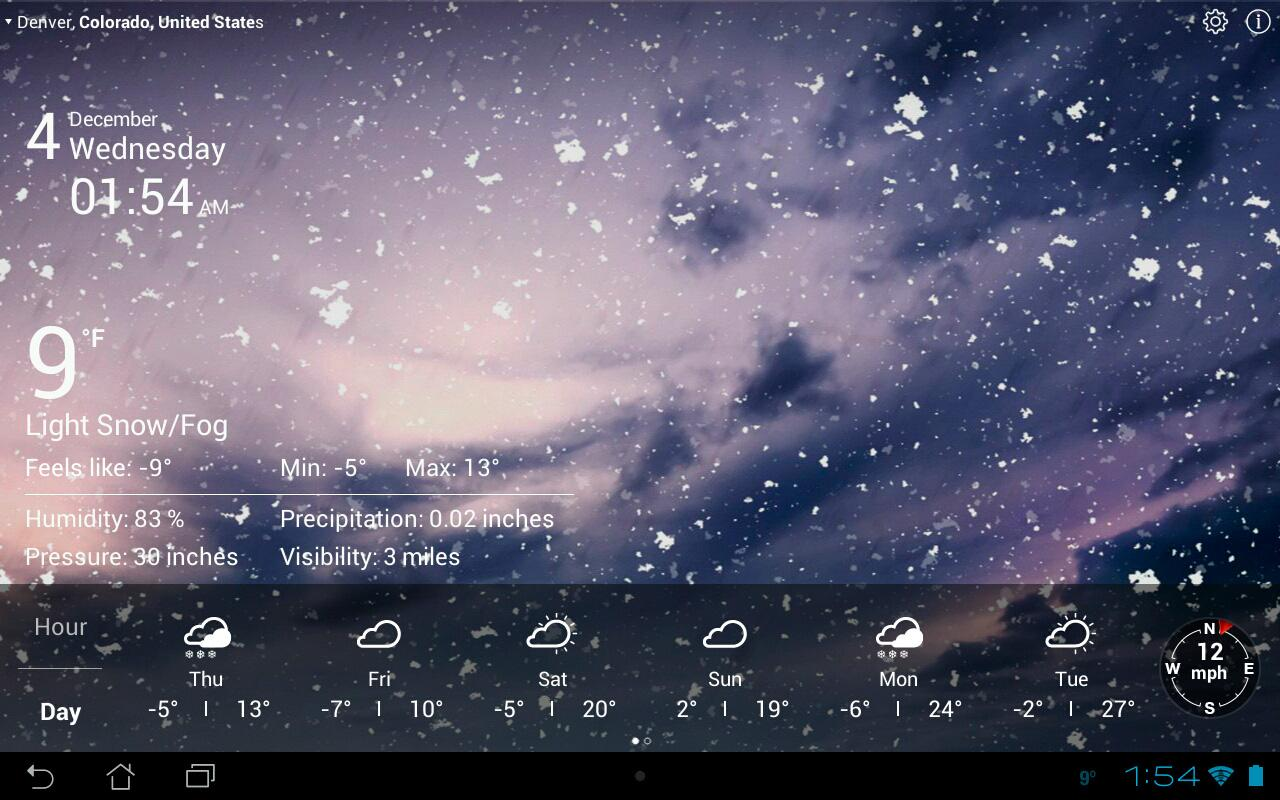 50 Animated Weather Wallpaper For Android On