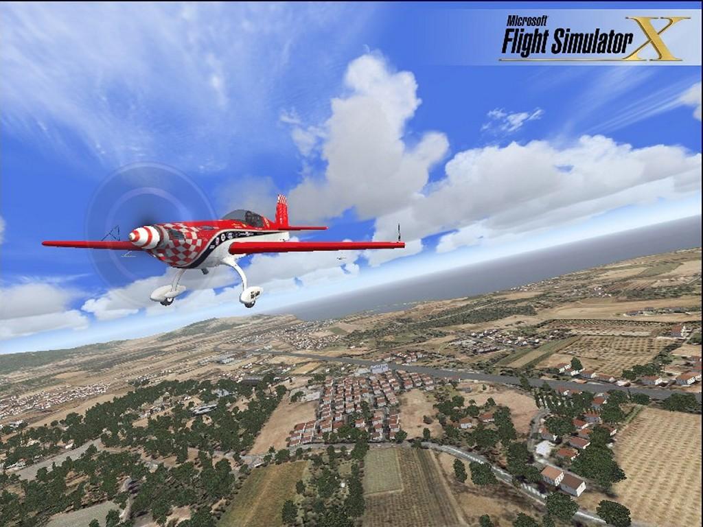 My Wallpapers   Games Wallpaper Flight Simulator X 1024x768