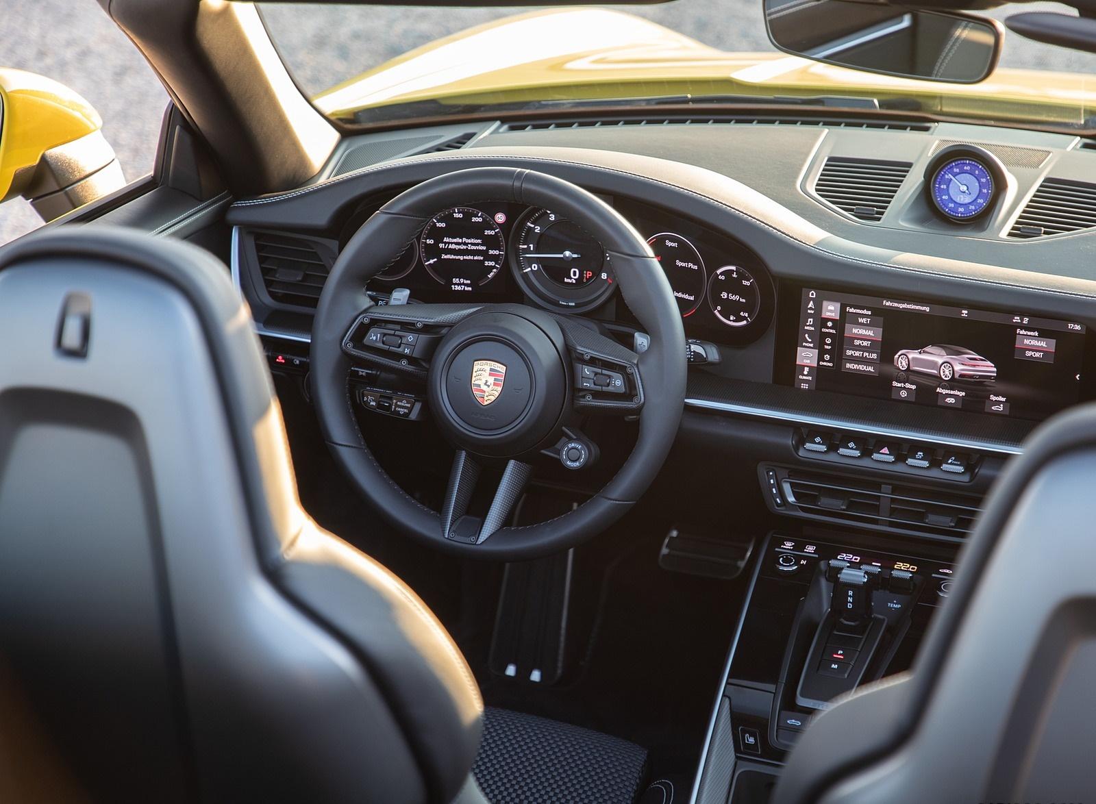 2020 Porsche 911 Carrera S Cabriolet Color Racing Yellow 1600x1174