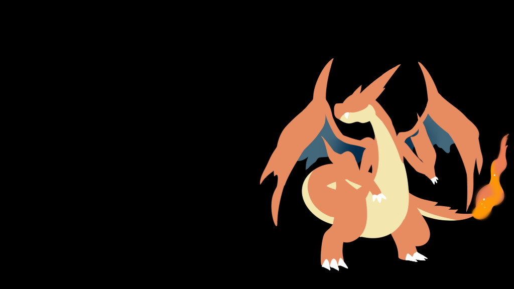pokemon wallpaper   mega charizard   y   by flows backgrounds 1024x576