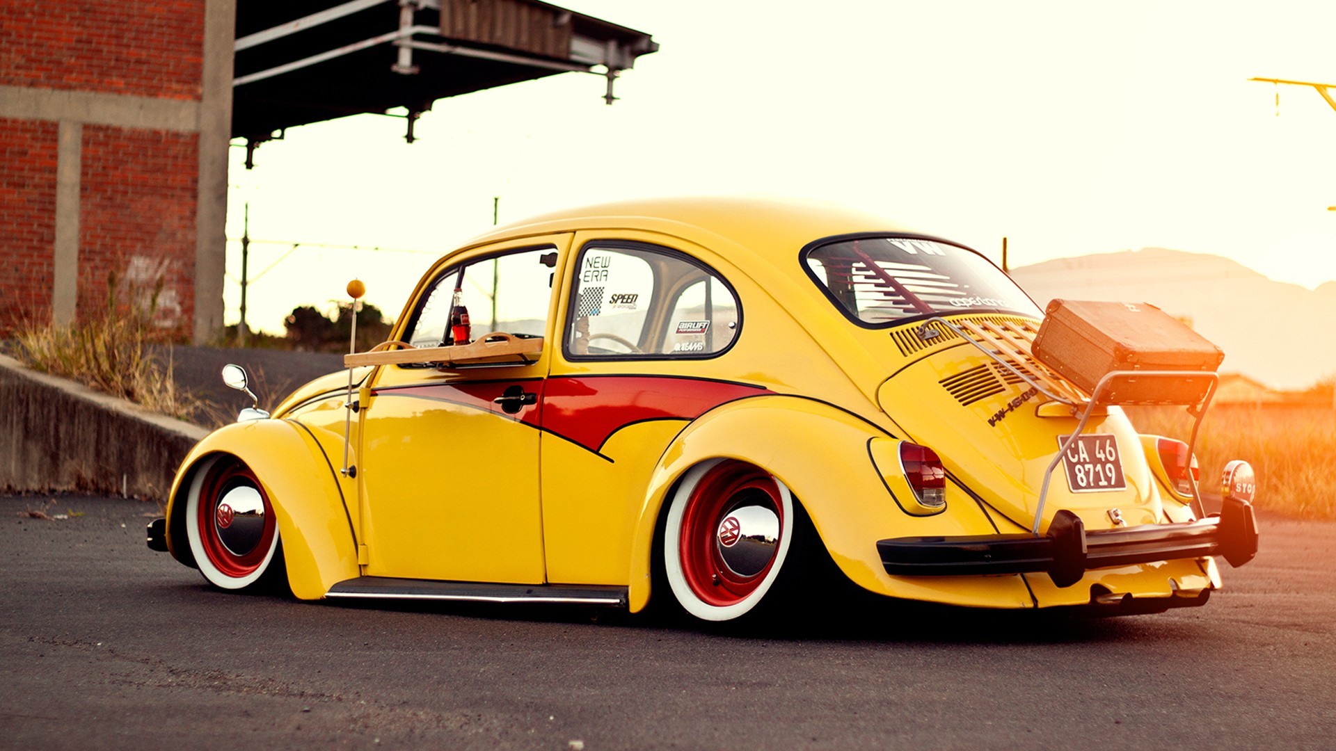 Volkswagen Beetle HD Wallpapers Backgrounds 1920x1080
