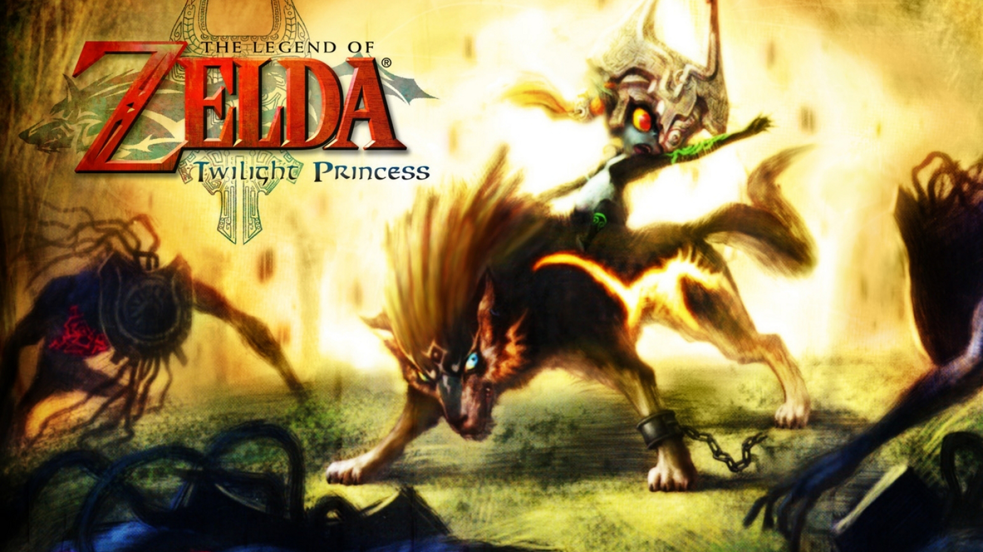 The Legend Of Zelda Twilight Princess Desktop Backgrounds 1920x1080