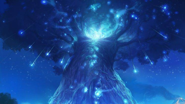 Ori And The Blind Forest, Forest, Trees, Spirits ...