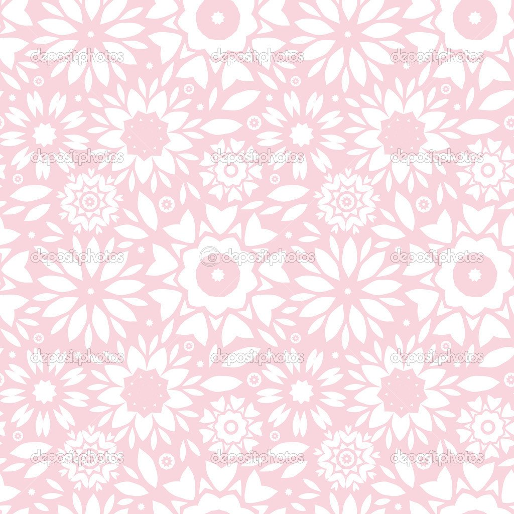 light pink floral background - photo #30