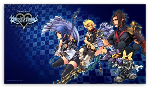 Kingdom Hearts Birth By Sleep Final Mix HD wallpaper for HD 169 High 510x300