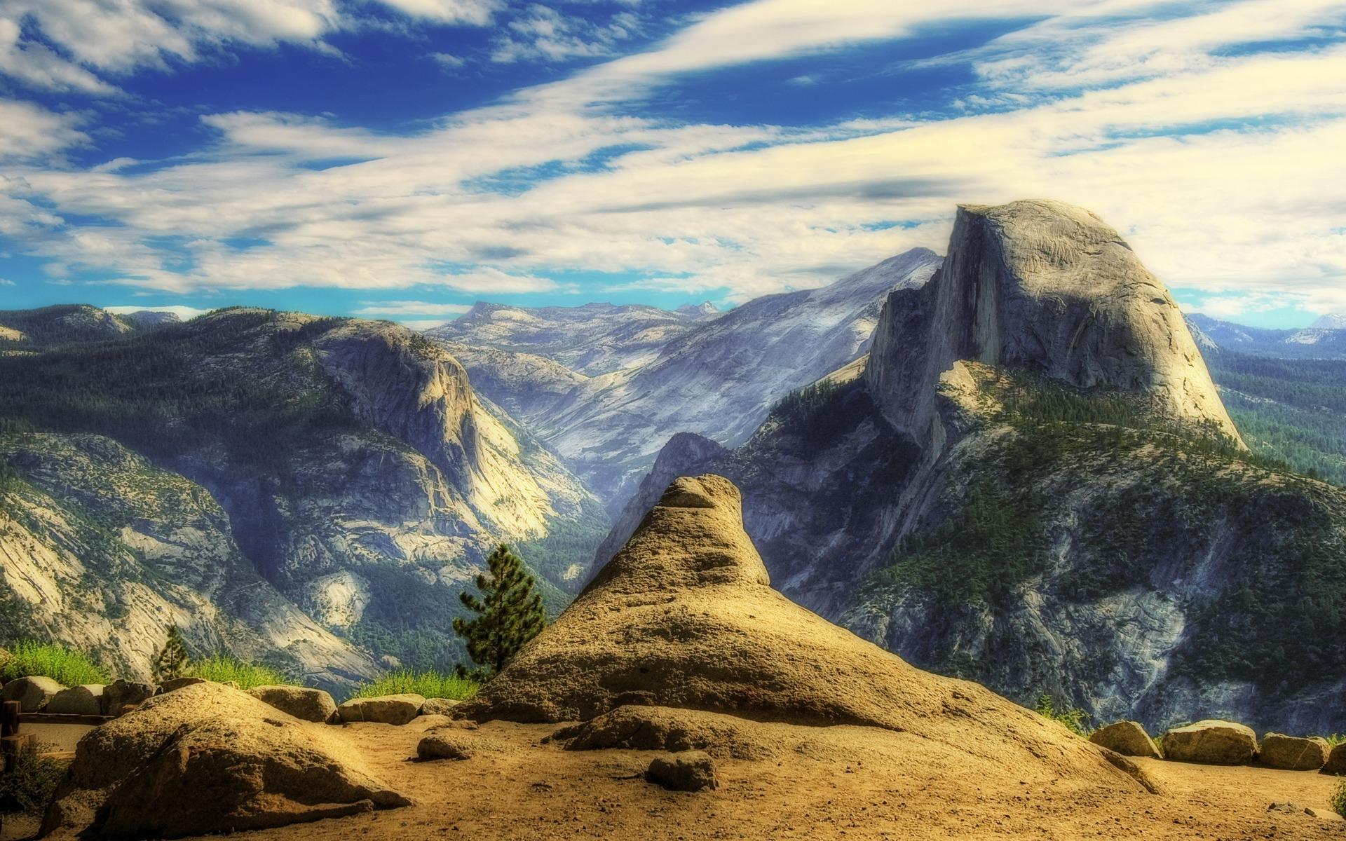 California Mountains United States Wallpaper 1920x1200