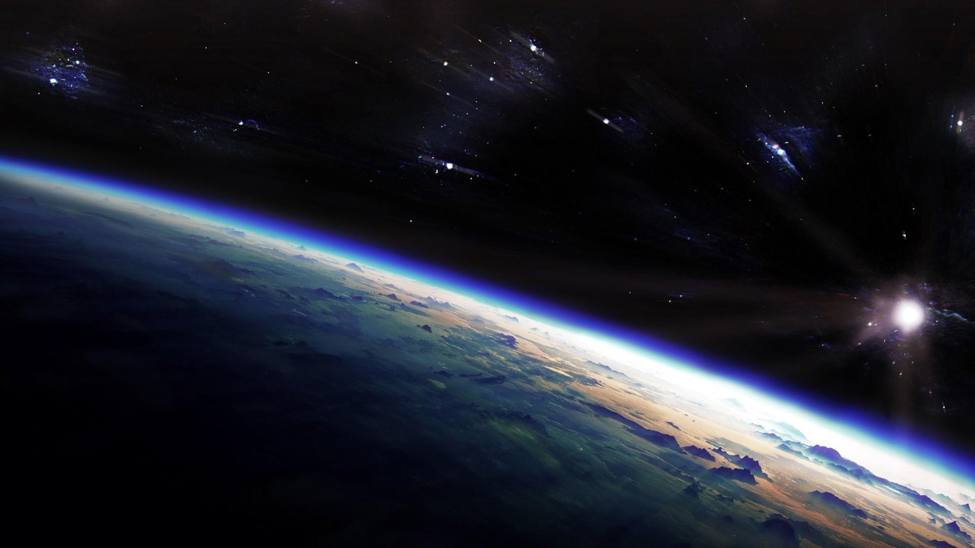 Planet surface wallpaper - 253717
