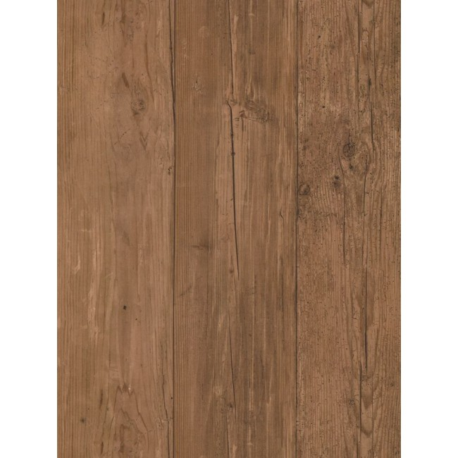 Chocolate Brown Planks With Wood Grain Wallpaper FK3931   All 4 Walls 650x650