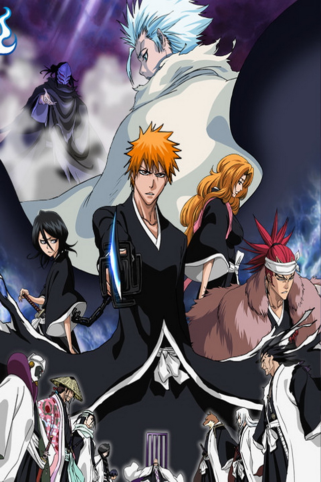 Bleach iPhone HD Wallpapers 5 Wallpapers Photo 640x960