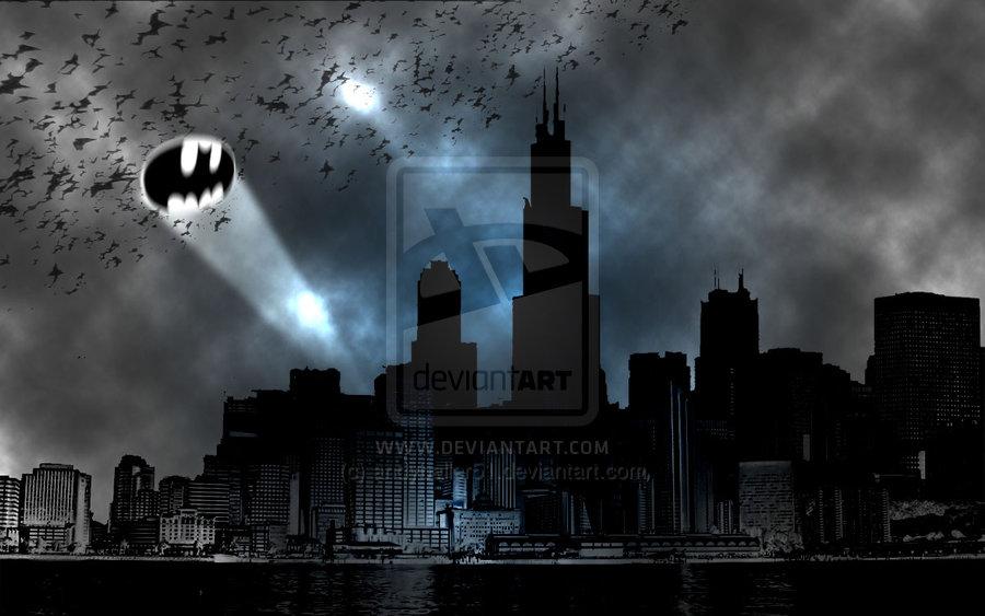 Free Download Gotham City Wallpaper Gotham City By