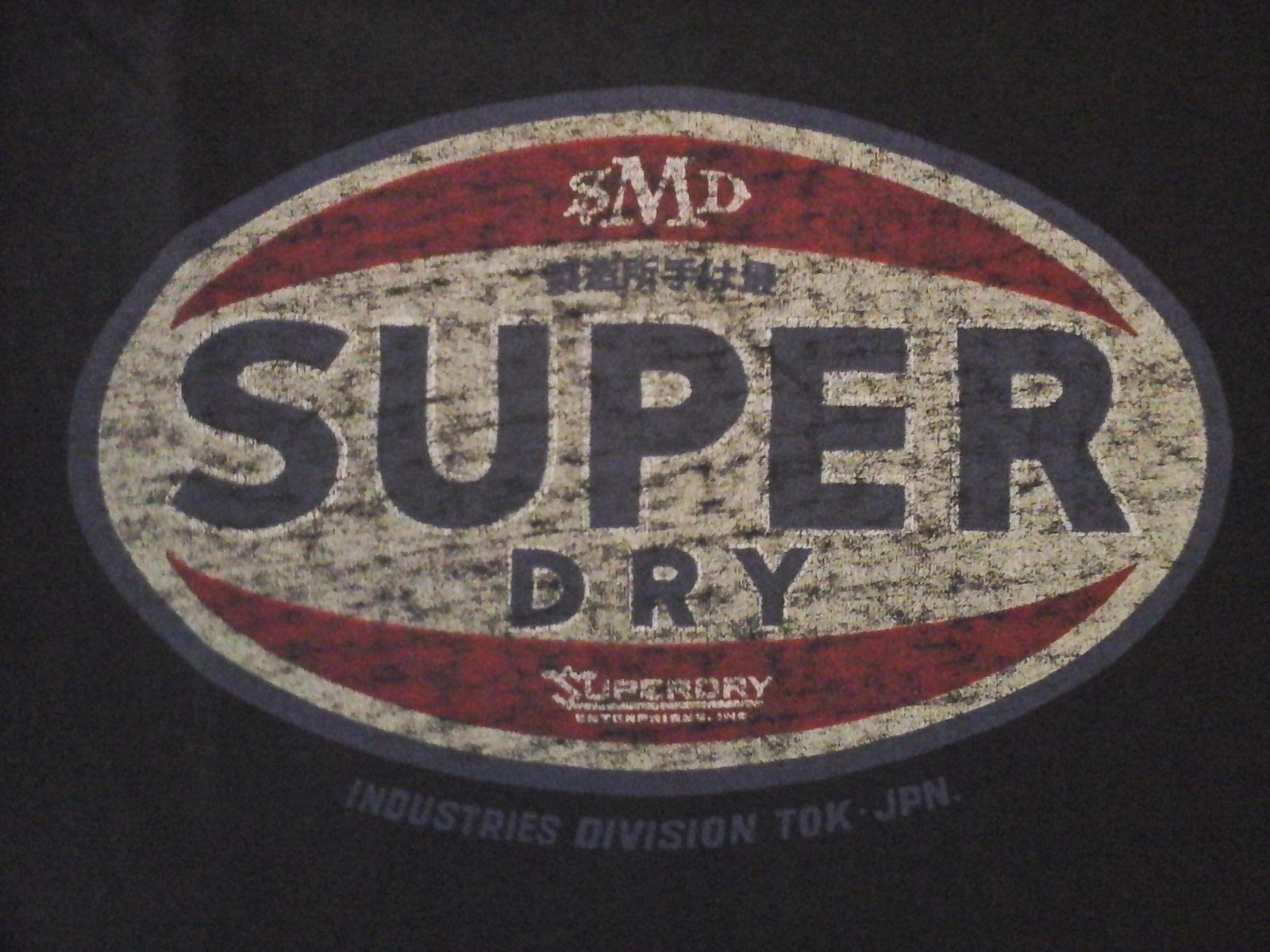 SUPERDRY T SHIRT GRL VINTAGE IN BLAU MENS CHEAP SUPERDRY CLOTHES 1600x1200