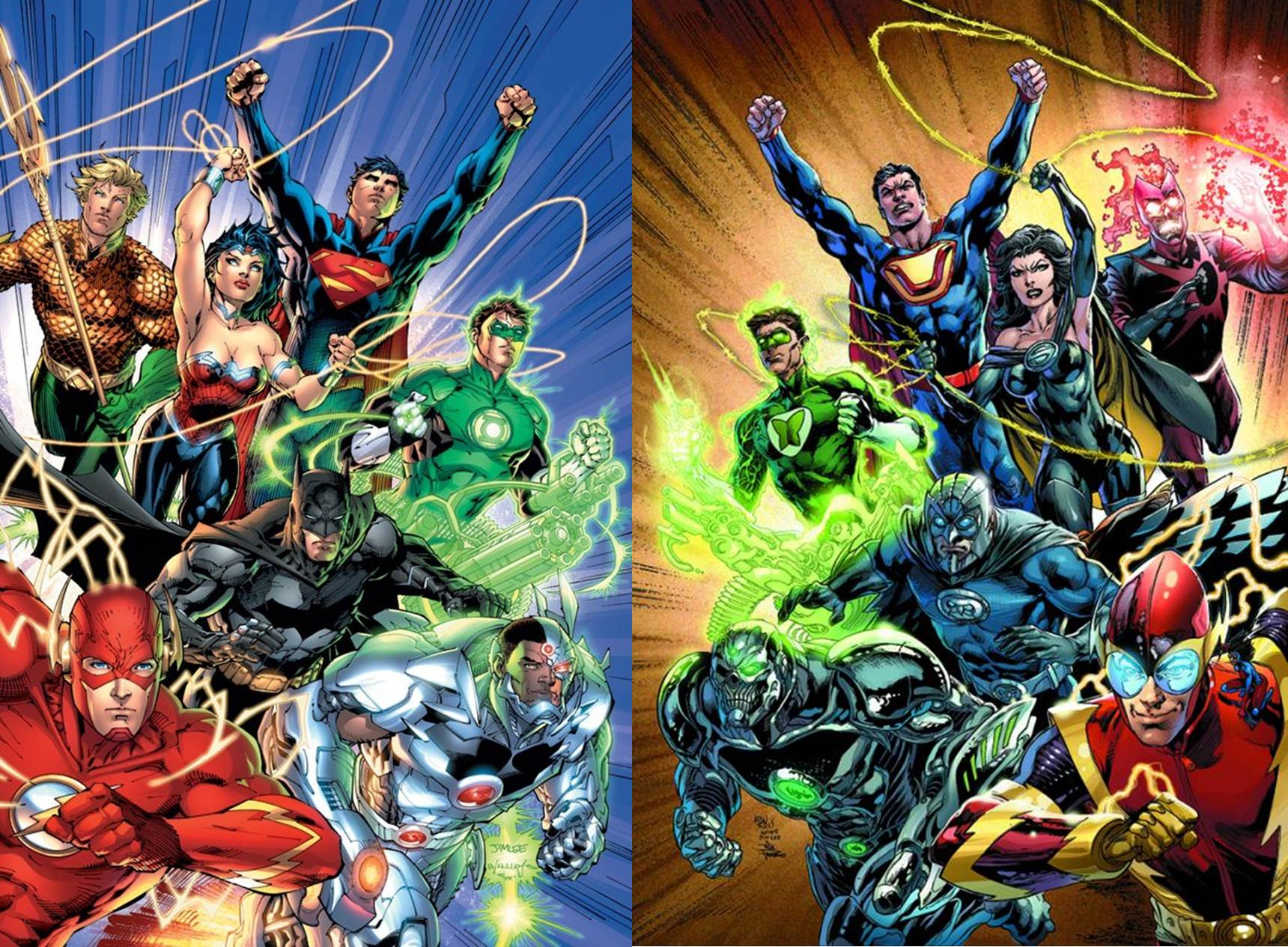 Free Download Justice League New 52 Wallpaper Justice League