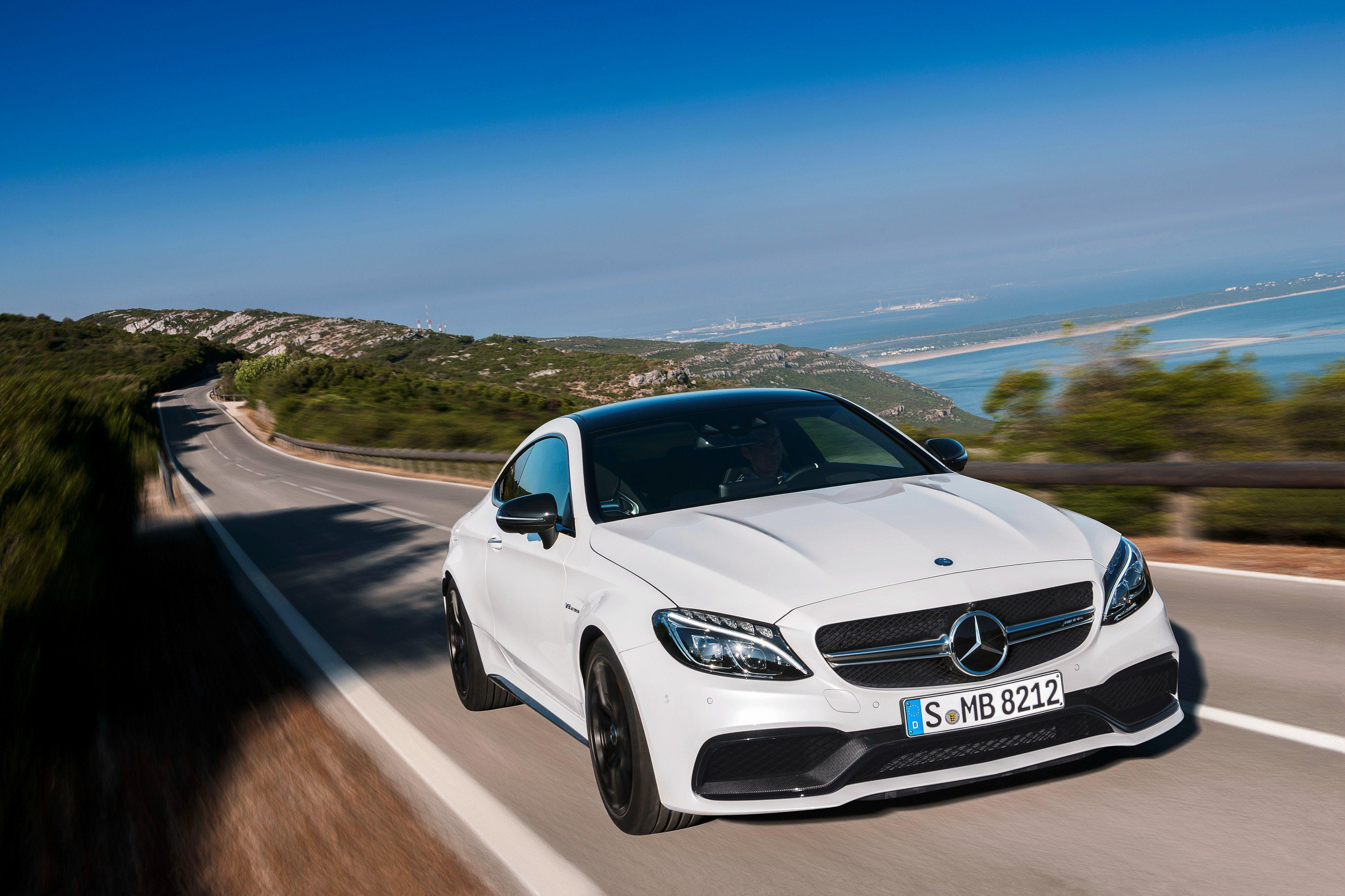Mercedes AMG C63 S Coupe Wallpapers 4096x2731