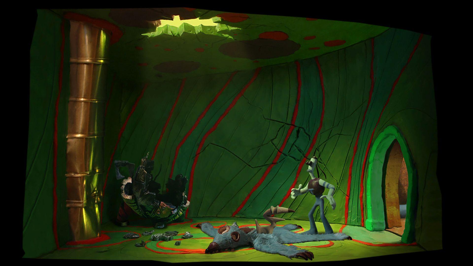 2d prerendered backdrops of 3D scenes in Gamemaker 14 GameMaker 1920x1080