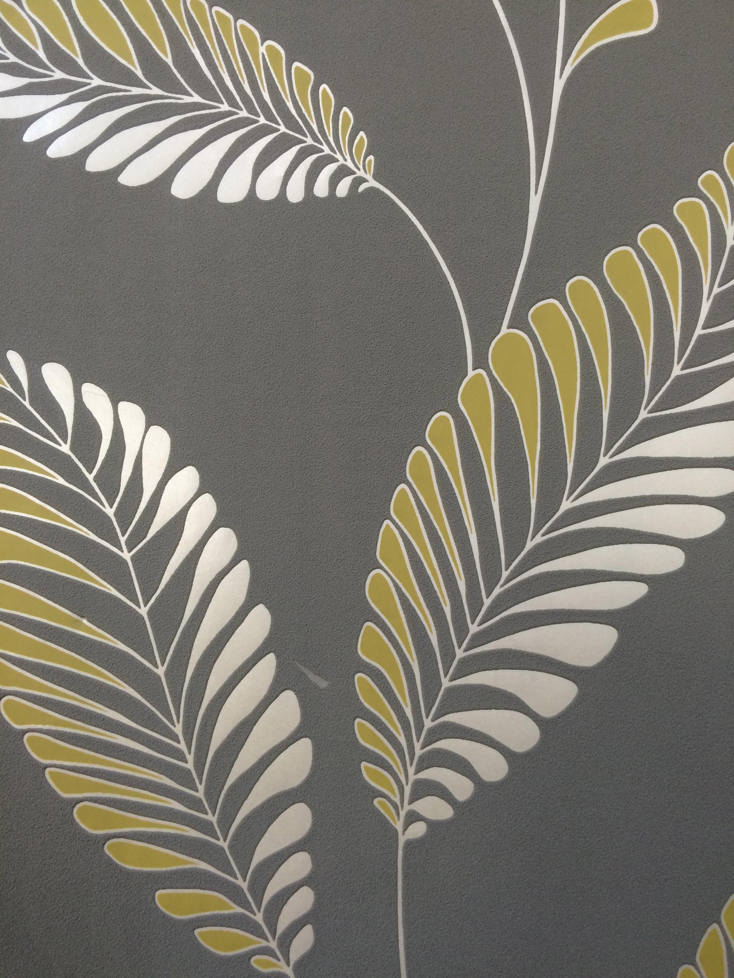 30464   Chartreuse Leaf   Wallpaper Border Shop 2448x3264