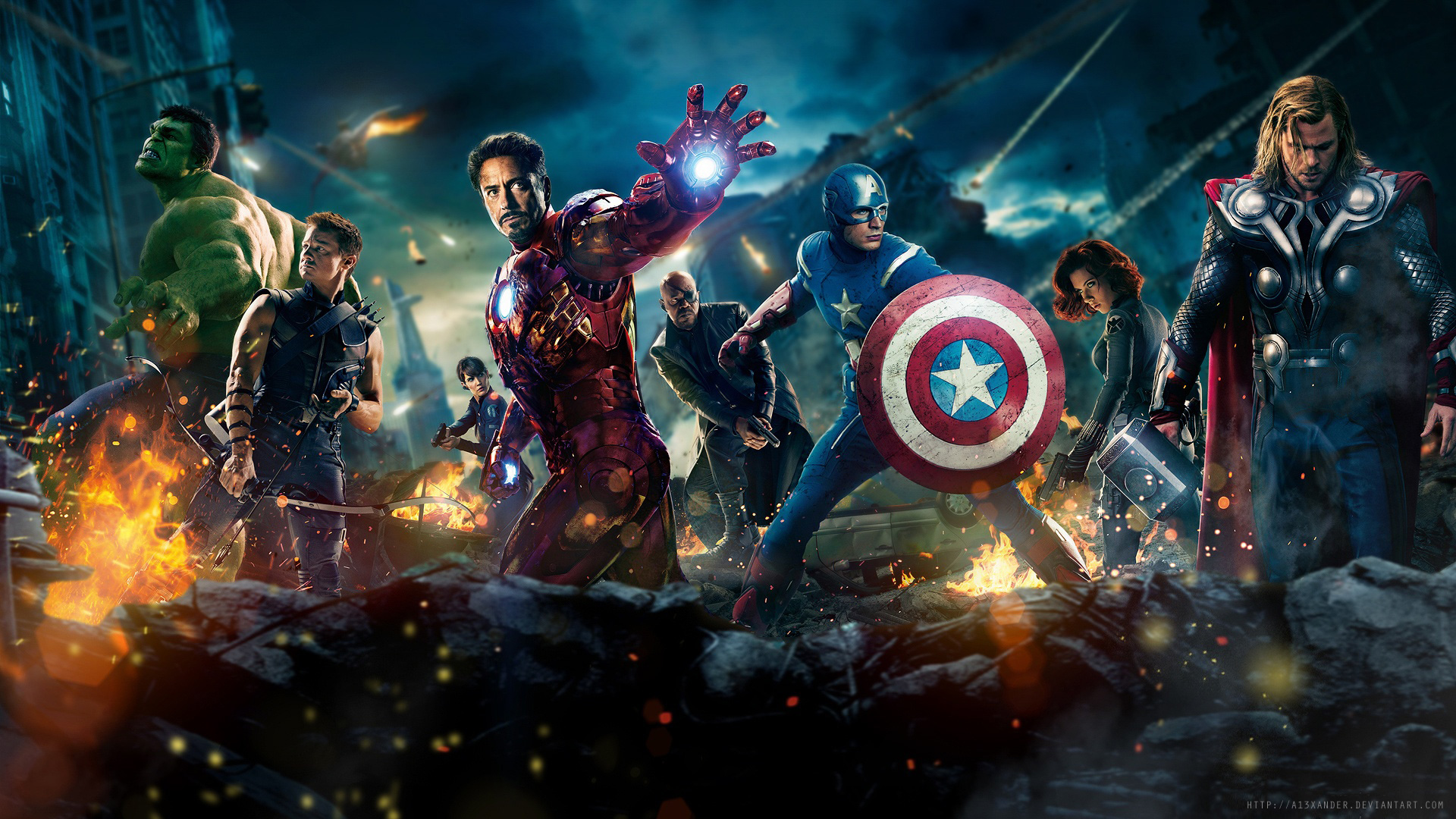 Avengers Wallpaper WallpaperSafari