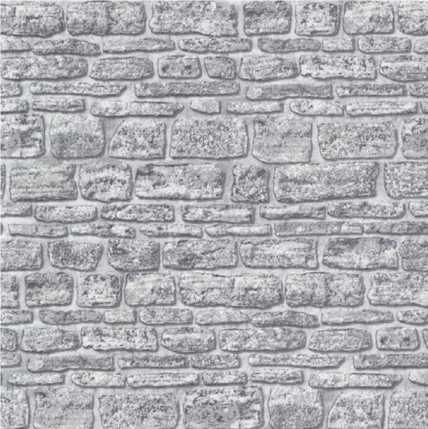 ERISMANN BRIX CASTLE STONE WALL BRICK TEXTURED VINYL WALLPAPER ROLL 600x601