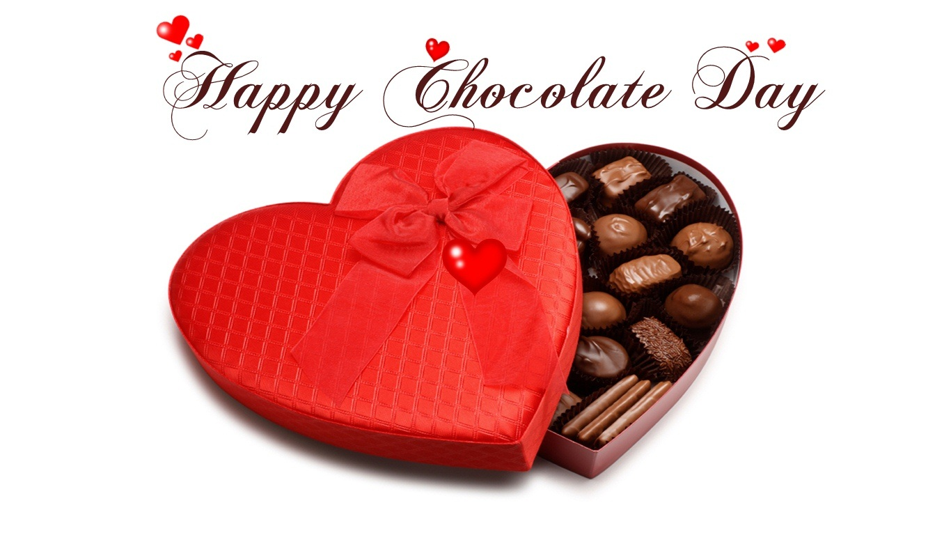 Happy Chocolate day Images Photos Pics Wallpapers 2020 HD 1366x768