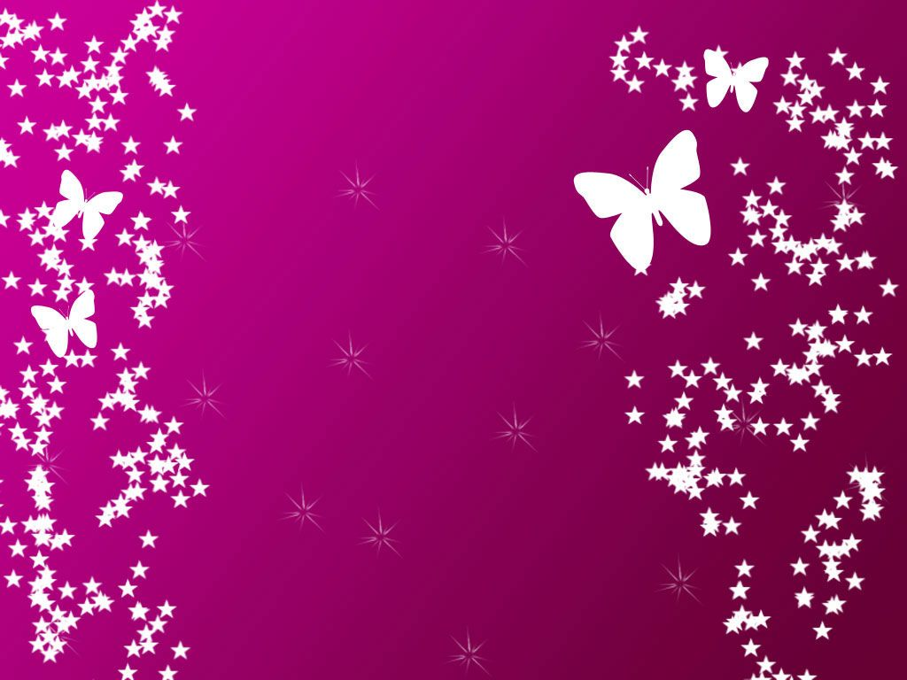 Pink Butterfly Wallpapers Wide at Abstract Monodomo 1024x768