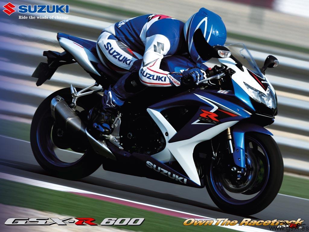 Wallpapers de Suzuki GSX R 600 y 750 2008 Motos Suzuki GSX R 1024x768