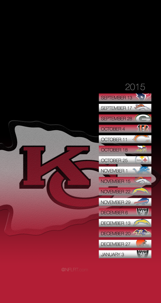 Click for larger Chiefs 2015 Schedule Cell Phone Wallpaper 543x1024