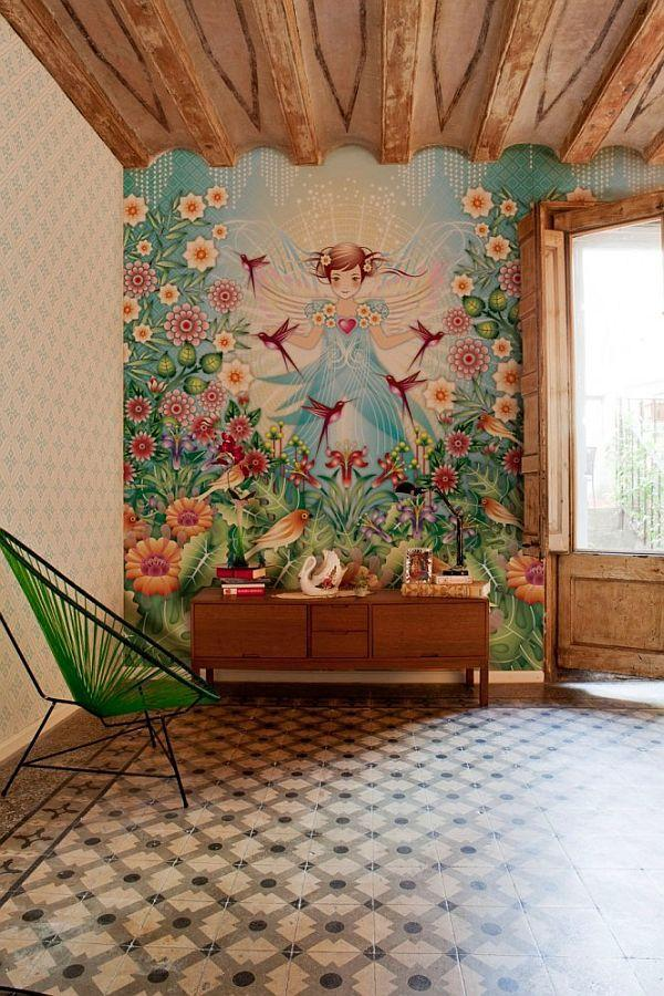 Most Colorful Home Wallpapers Decoration Home Goods Jewelry Design 600x900