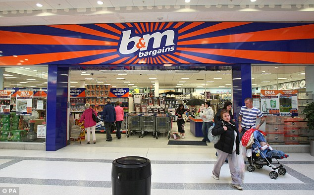 Boss Leahy Plans To Double Stores Of Bargain Chain BM This Is Money 634x394