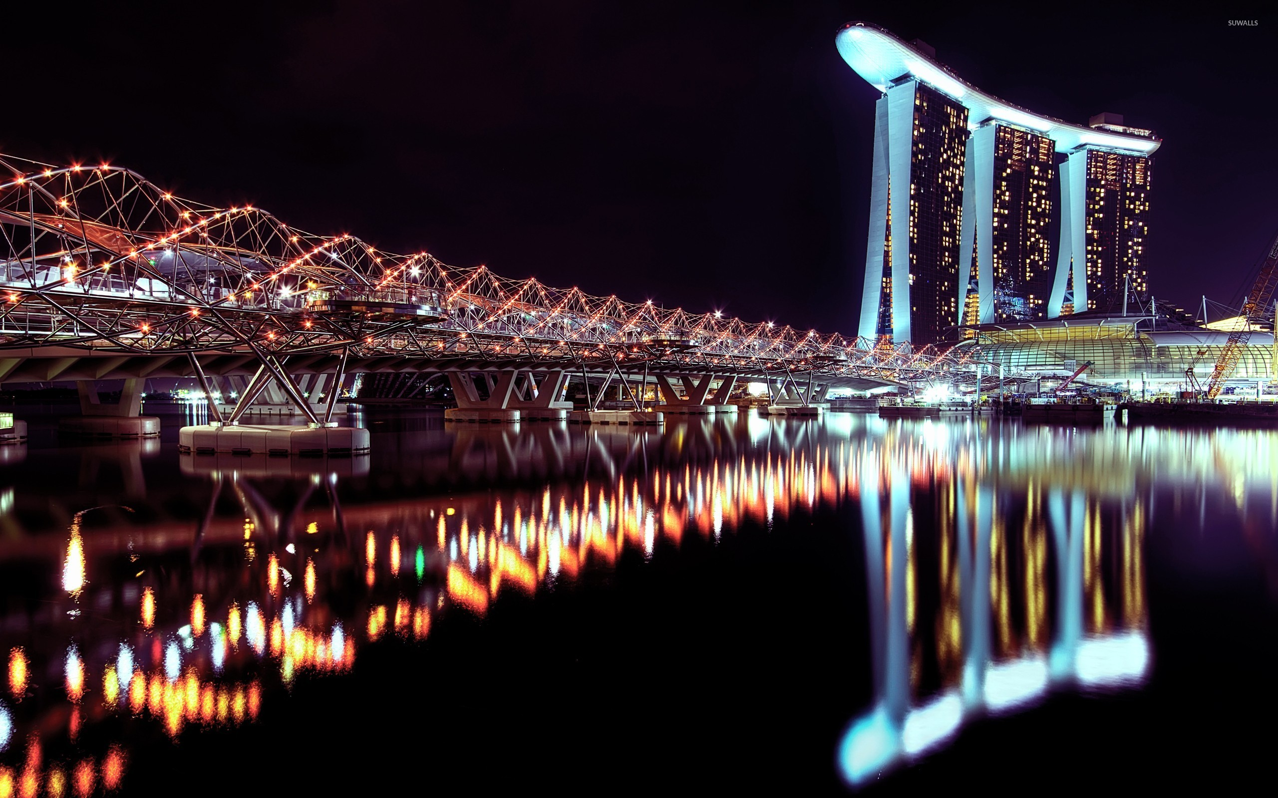 Marina bay singapore wallpaper wallpapersafari for 3d wallpaper for home singapore