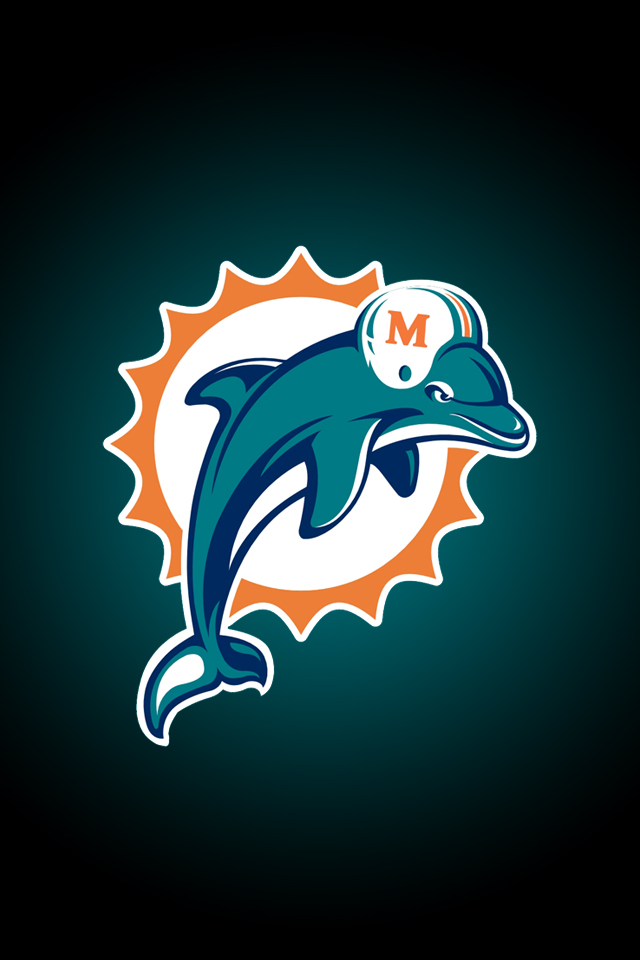 Miami Dolphins   iPhone Wallpaper 640x960