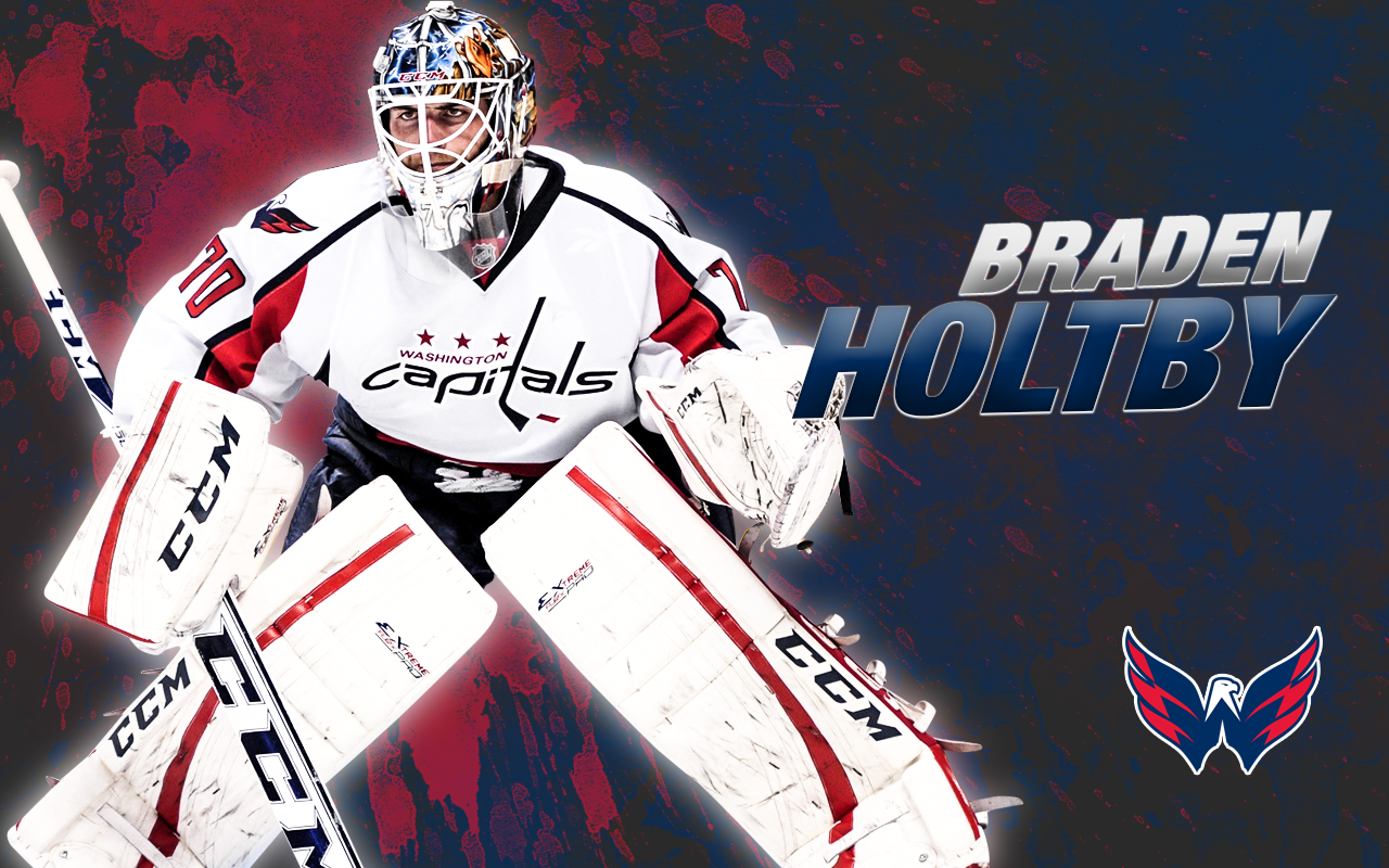 download Braden Holtby Wallpaper by MeganL125 [1280x800] for 1280x800